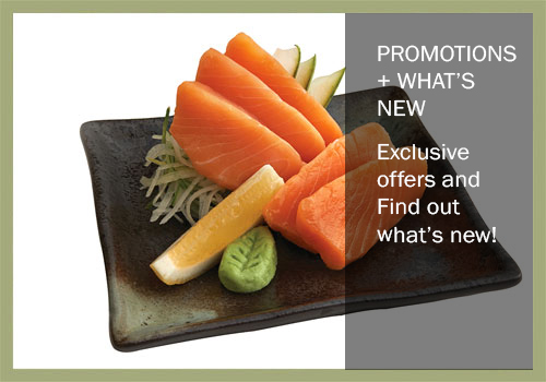 Promotions + What's New!